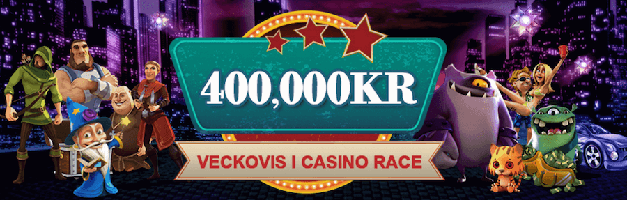 Videoslots casino races